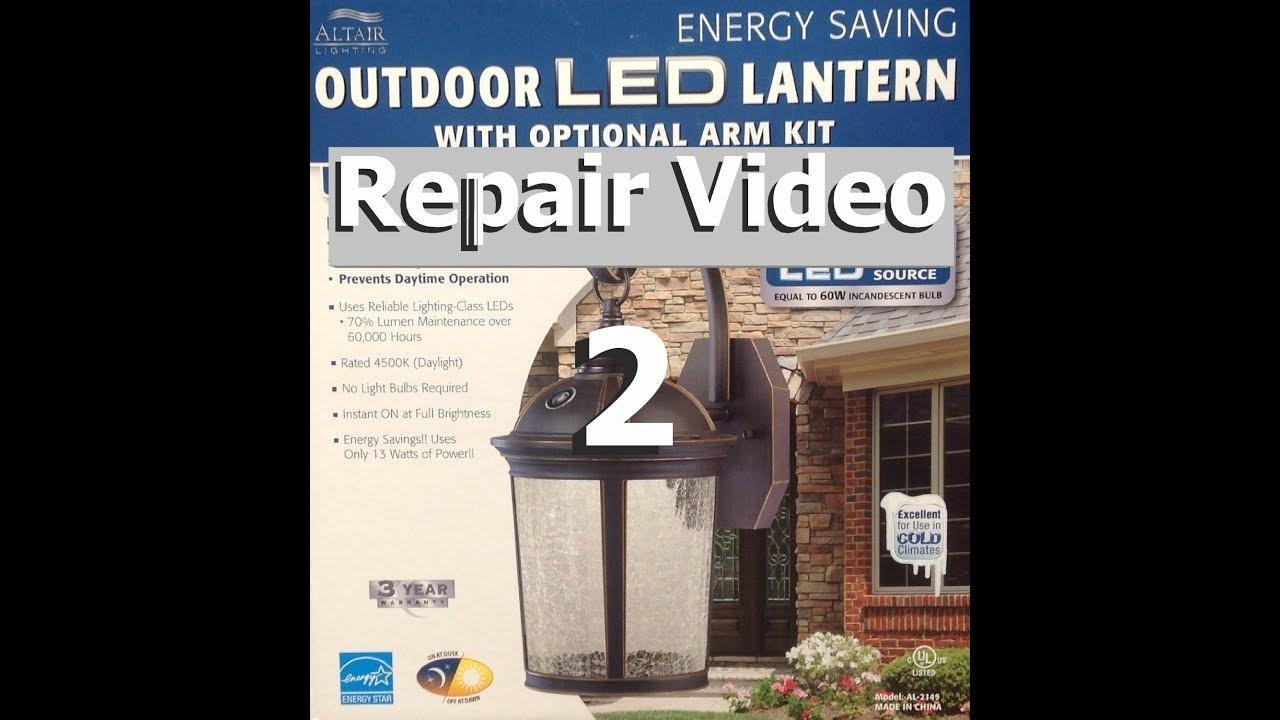 costco led porch lantern repair 2
