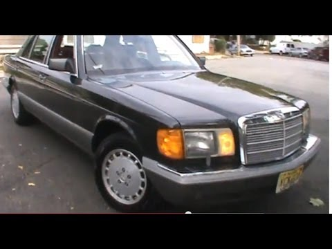 1987 mercedes benz 300sdl diesel youtube. Black Bedroom Furniture Sets. Home Design Ideas