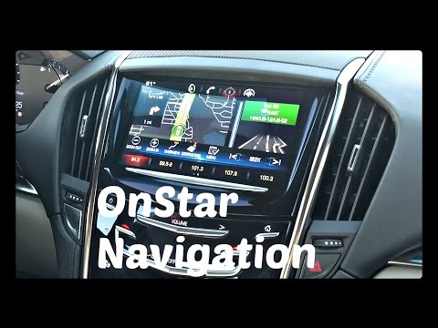How To Use OnStar Navigation