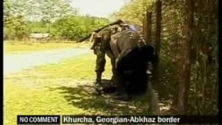 Khurcha - Georgian-Abkhaz border