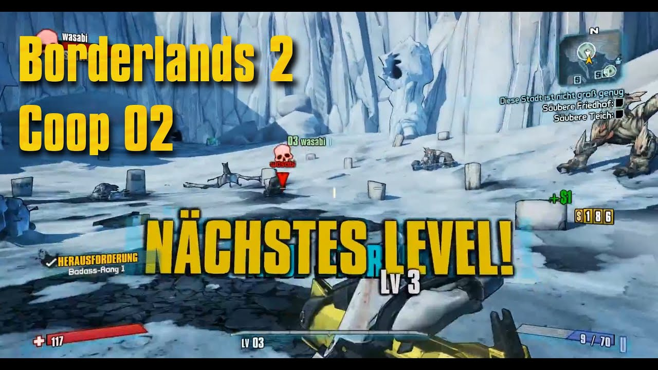 how to play local co op borderlands 2