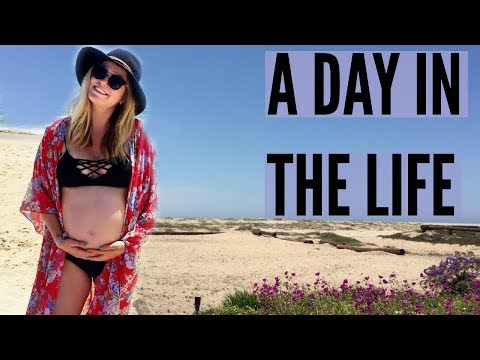 2. A DAY IN THE LIFE: LAST DAY BEING PREGNANT!