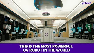 This is the most powerful UV robot in the world