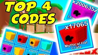 TOP 4 NEW CODES IN MINING SIMULATOR - MYTHICAL CRATE/ EGG UPDATE ROBLOX