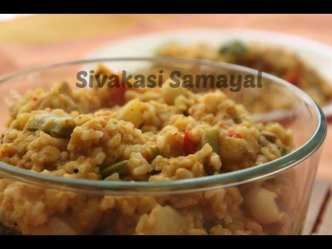 Sambhar sadam(சாம்பார் சாதம்)Sivakasi Samayal/ Recipe - 17