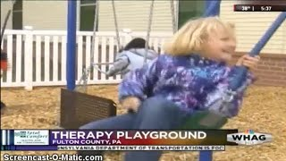 New Therapy Playground Opens at Fulton County Medical Center WHAG News