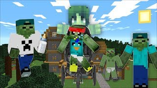 FRIENDLY ZOMBIE MARK GETS A NEW ZOMBIE BABY FROM DAYCARE !! Minecraft !!
