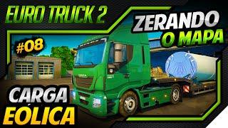Euro Truck Simulator 2 - Carga Turbina Eólica - Mod DLC Scandinavia