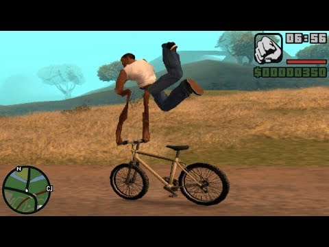 GTA San Andreas Best Glitches