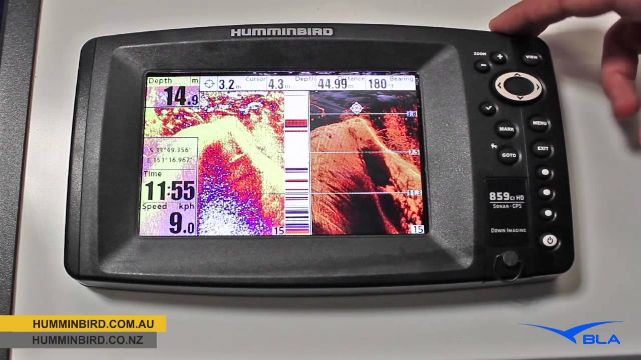 bla - humminbird - 859cxi hd di combo overview - youtube, Fish Finder