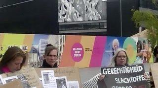 В Голландии почтили память погибших два года назад в Доме профсоюзов