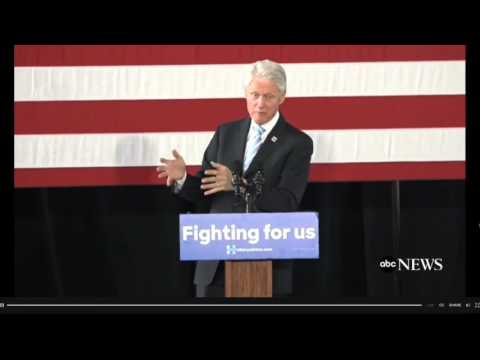 """Bill Clinton: Hillary """"Recommended Exactly What President Obama Is Doing Now To Combat ISIS"""""""