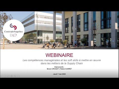 Webinar: Les compétences managériales et les soft skills dans les métiers de la Supply Chain