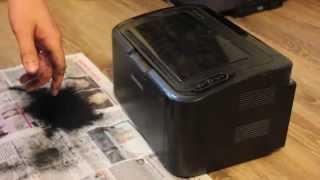 Заправка картриджа принтера Samsung ML-1865(, 2014-08-12T04:02:08.000Z)