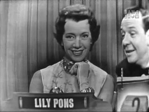 What's My Line? - Lily Pons (Mar 6, 1955)