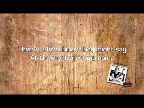 Tracy Lawrence  The Singer Lyric