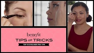 Top 10 Eyeliner Pro Tips—New they're real! push-up liner by Benefit Thumbnail