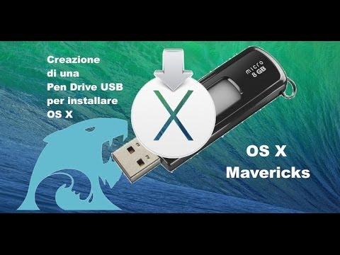 Tutorial Mac #42 - Come creare una USB Bootable di OS X 10.7-8-9