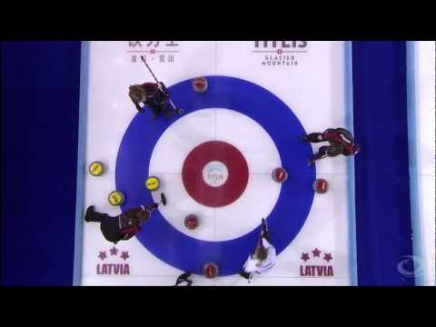 CURLING: WWCC 2013 Draw 14 - CAN vs SUI - HIGHLIGHTS