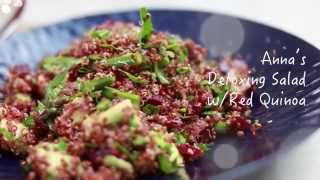 Anna's Detoxing Salad With Red Quinoa :: Chef's Choice