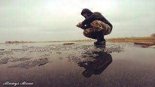 Екстремальна зимова риболовля. Ловля окуня на балансир. Щука на жерлицы. Риболовля на мотоциклі.