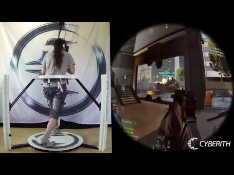 Battlefield 4 Multipalyer Online in VR Cyberith+Oculasrift