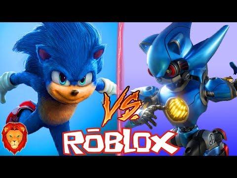 Roblox Movie Metal Sonic Sonic La Pelicula Vs Metal Sonic La Pelicula En Roblox Batalla Epica De Personajes En Roblox Youtube