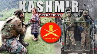 Mission Kashmir Is Still On - 3 Major Ongoing Operations In Kashmir | Indian Army In Kashmir