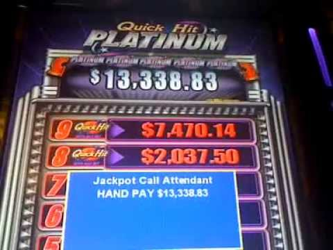 Platinum Quick Hits Slot Machine