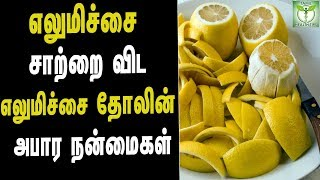 Lemon Peel Health Benefits - Tamil Health & Beauty Tips