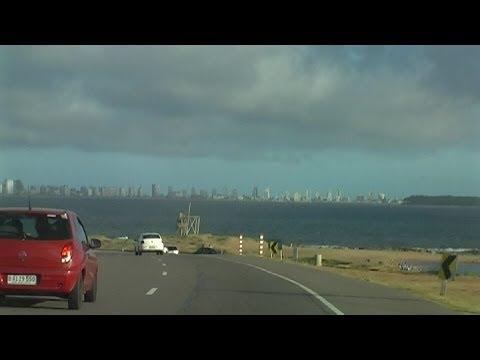 Punta del Este (Uruguay) 2/2 - Rondrit door / Driving tour of / Paseo por Punta del Este (2011)