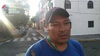 Mexico City, another focus of contagion of Covid 19, mouthguards thrown on public roads