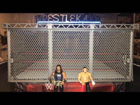 Roman Reigns vs Samoa Joe ( Steel Cage Match) thumbnail