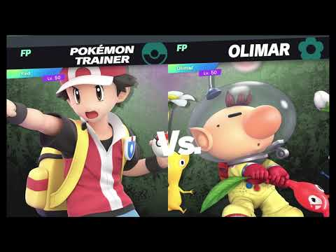 Super Smash Bros Ultimate Amiibo Fights Request #23: Pokemon Trainer Vs Olimar Best 2 Out Of 3