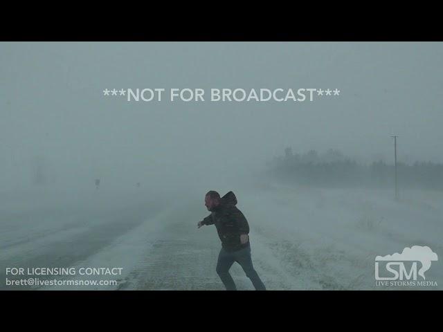 11-25-18 Lincoln, Nebraska Winter Storm Bruce - Blizzard Warning