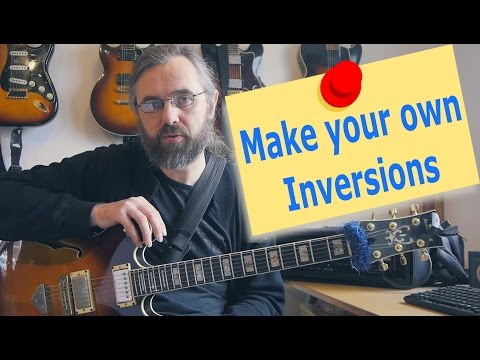 Find New Jazz Chords with inversions
