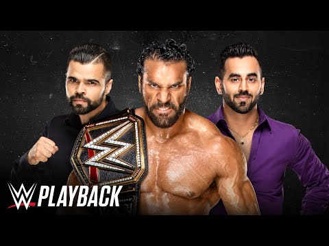 Jinder Mahal relives his WWE Title victory with The Singh Brothers: WWE Playback