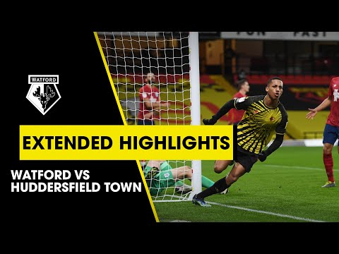 WATFORD 2-0 HUDDERSFIELD TOWN | EXTENDED HIGHLIGHTS | CLEVERLEY & JOÃO PEDRO GOALS