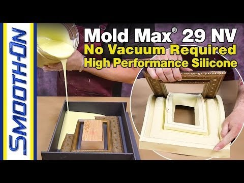 Mold Making Tutorial - How To Make a Silicone Mold of an Antique Frame