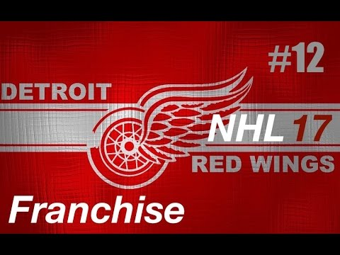 """NHL 17 Franchise   Detroit ep. 12 """"Drafting New Pieces"""""""