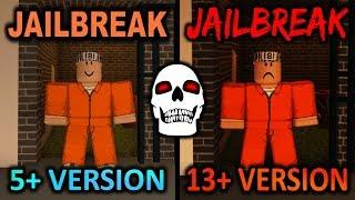 ROBLOX jailbreak versão HORROR assustador!