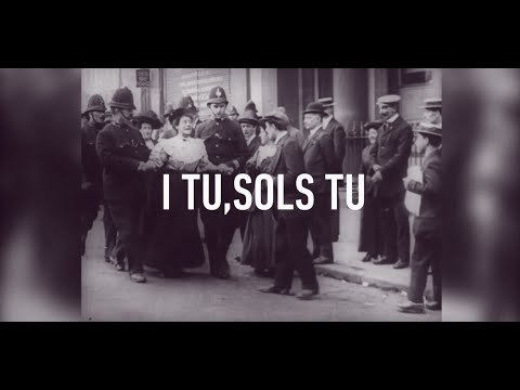 ✪ I TU, SOLS TU ✪ @el_Diluvi ♀ www.valldigna.cat ♀ #EspecialEdition #8M ✪