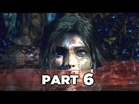 THE DESCENT - Tomb Raider Definitive Edition Gameplay Walkthrough Part 6 (PS4 XBOX ONE)