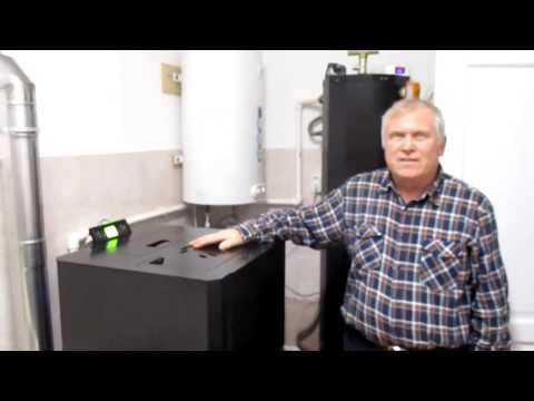 Отзыв пеллетный котел TERMAL 12, отопление дома.