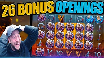 🔥 SLOTS ON HOT MODE! 26 BIG BONUS'S! Vikings, Bonanza, Safari Gold, Opal Fruits & More!