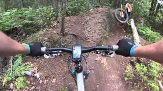 Trail Genius - Copper Harbor Trails - Red Trail
