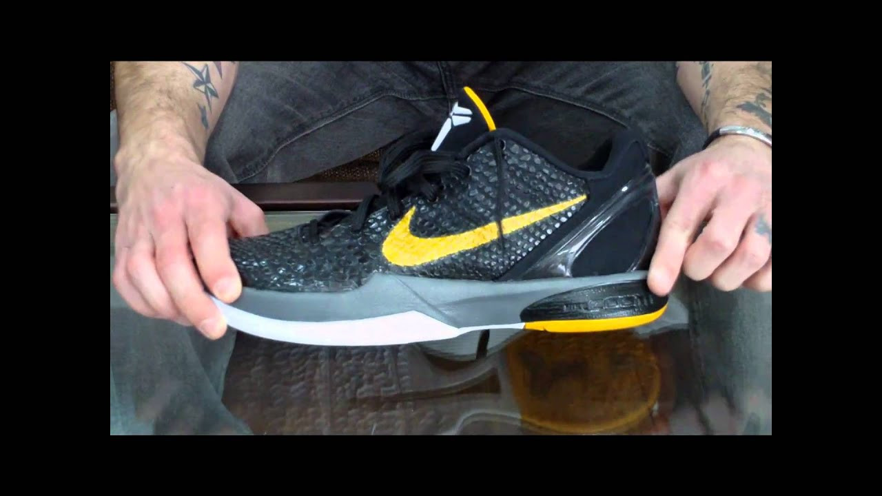c93cba291bf Nike Zoom Kobe VI (6) Performance Review - YouTube