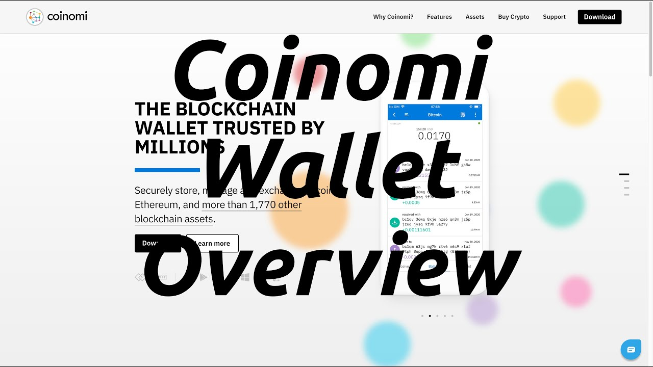 Coinomi Crypto Wallet Overview