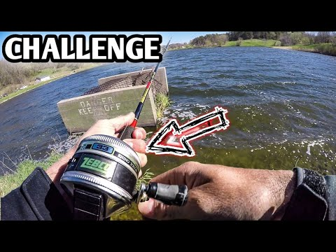 Fishing Challenge *ONE Rod - ONE Hour* (Using My Zebco 33 Combo)