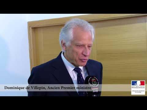Déclaration à la presse de M. Dominique de Villepin à l'issue de son entretien avec M. Youcef Yousfi
